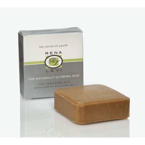 Price comparison product image Rena Levi Vanishing Act Natural Acne Cleansing Soap Bar,  for all skin types