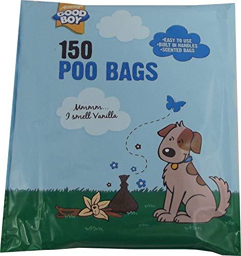 Armitage Goede Jongen Geurende Hond Poo Tassen - Pack van 150, 30cm x 15cm