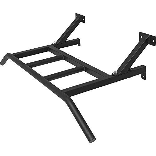 GORILLA SPORTS® Multigriff Klimmzugstange zur Wandmontage – Schwarz bis 150 kg belastbar