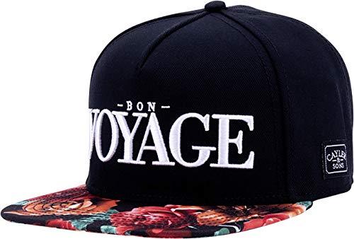 Cayler & Sons Unisex-Adult WL Bon Voyage Cap, Black/mc, Einheitsgröße