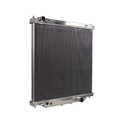 6.0L Turbo Diesel Powerstroke Aluminum Radiator for 2003-2007 Ford F250 F350 Super Duty