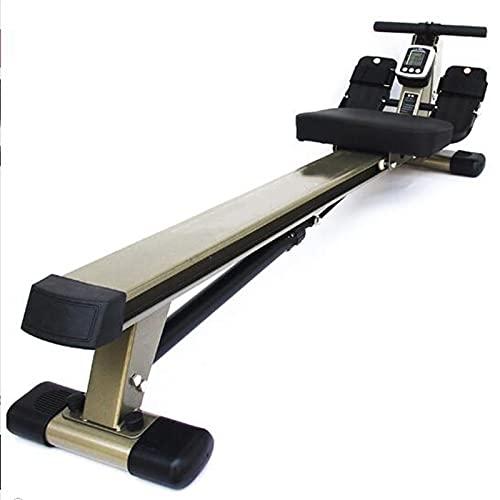 BLLXMX Máquinas de Remo de Acondicionamiento Físic Remo MachineHome múltiples funciones Máquina de remo ejercicio aeróbico Rower 12 ajustable resistencia hidráulica de ajuste de la paleta de la máquin