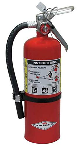 AMEREX Fire Extinguisher, Dry Chemical, 3A:40B:C