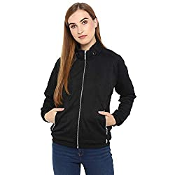 Monte Carlo Black Cotton Solid Jackets