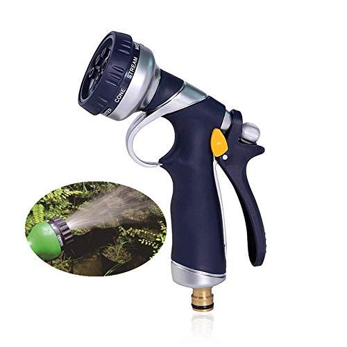 DealMux Gardena, pistola de agua de alta presión para ducha, pistola rociadora de manguera para lavado de mascotas, múltiples modos, pistola rociadora de manguera para lavado de coches