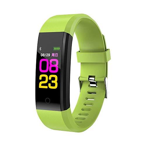 Oyznsb Horloge Smart Watches Smartwatch armband band kinderen kinderhorloges voor meisjes jongens leven waterdicht digitaal LED Sport kinder polshorloge groen