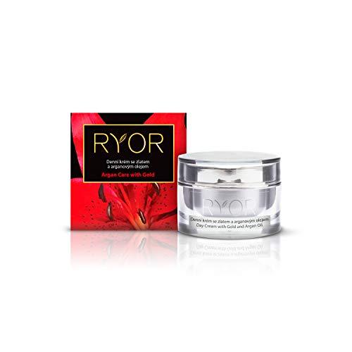 RYOR Luxus-Tagescreme mit Gold und Arganöl 50 ml
