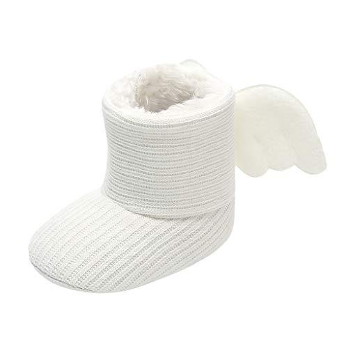 DWQuee ❤️ Baby-Baumwollstiefel mit weicher Sohle, Winter-Kinderstiefel Säuglings-Neugeborene Mädchen Jungen Outdoor-Schuhe Lauflernschuhe Stiefel 0-15Monate