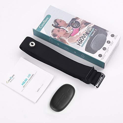 CooSpo IP67 Brustgurt Lieferumfang