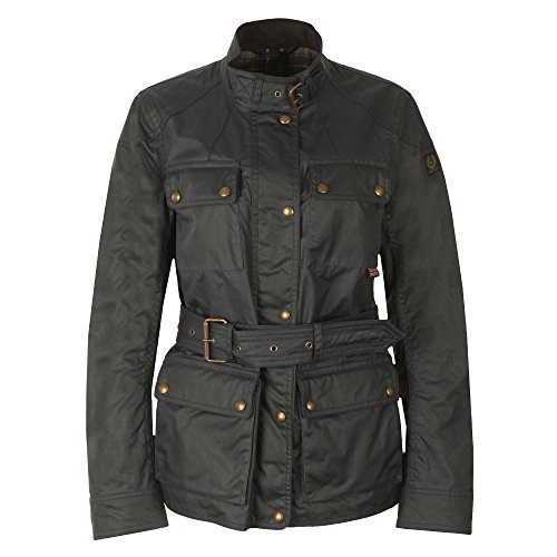 Belstaff Damen Roadmaster 2.0 Jacket Woman Jacke, Schwarz (Black 90000), 42
