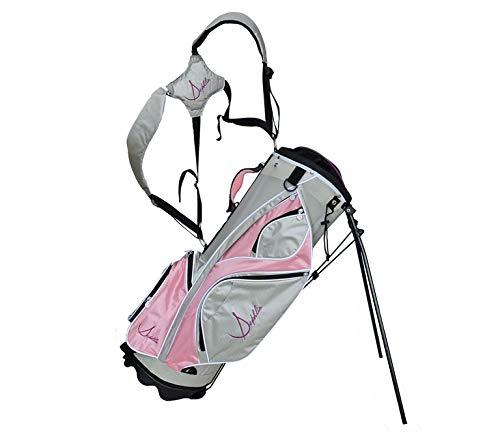Sephlin - Sephlin Womens Golf Bag (Lite Pink Silver Gray White)
