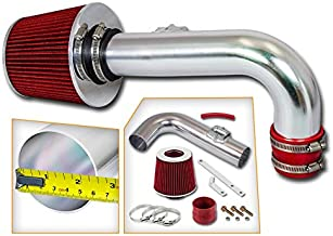 Rtunes Racing Short Ram Air Intake Kit + Filter Combo RED For 11-15 Chevy Cruze 1.4L Turbo / 12-15 Chevy Sonic 1.4L Turbo