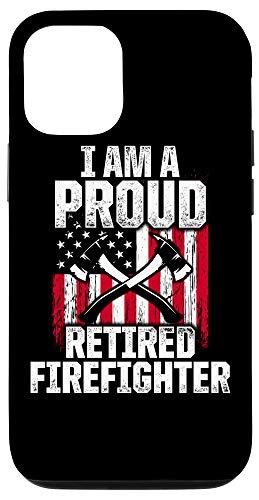 iPhone 12/12 Pro Retired Firefighter Pride Fireman Retirement Case