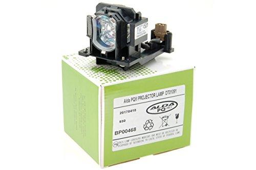 Alda PQ-Premium, Lámpara de proyector para HITACHI CP-D10 Proyectores, lámpara con Carcasa
