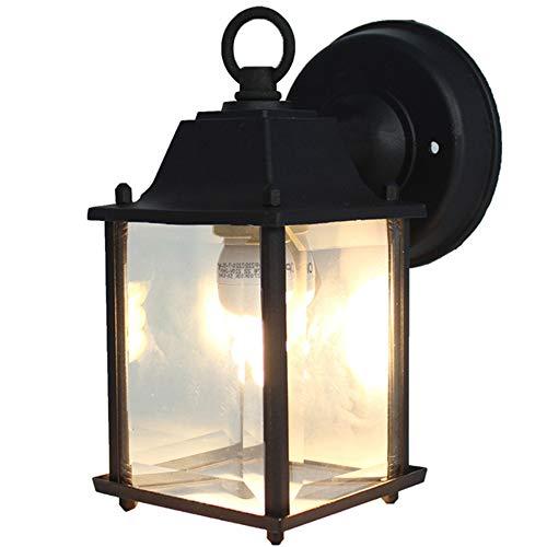 E27 Außenwandleuchte retro Außenleuchte vintage Wandleuchte wasserdichte Außenlampe, Außenstrahler für Garten Rasen Balkon