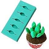 GJEFEGS Molde de Pastel 3D Fondant Decoración de Pastel de Silicona Accesorios de Cocina de Chocolate Moldes para Hornear