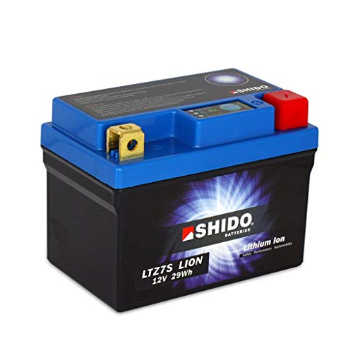 Batterie 12V 2,4AH(6AH) YTZ7S Lithium-Ionen Shido SH 125 JF68 17-18