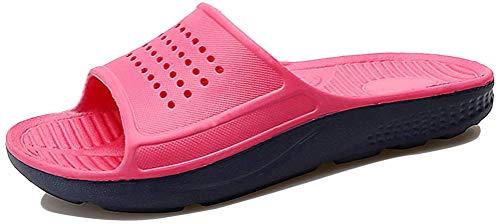 Zapatillas de Baño Hombres Mujeres Chanclas de Playa y Piscina Antideslizantes Verano Zapatos de Estar por Casa Sandalias de Piso Casuales y Al Aire Libre Antideslizantes Unisex Adultos 35-49 EU