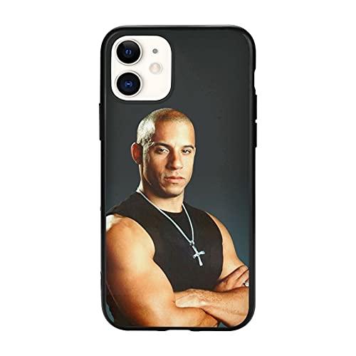 Vin Die-Sel Negro Cajas del Teléfono Cover iPhone Samsung Xiaomi Redmi Note 10 Pro/Note 9/Poco M3 Pro/Note 8/Poco X3 Pro Funda