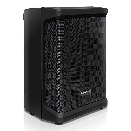 Sound Town Multi-Position All-in-one Powered PA System with TWS Bluetooth,...