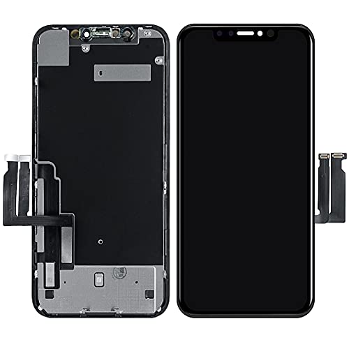 Best Shopper - LCD Display Touch Screen Digitizer Assembly Replacement Compatible with Apple iPhone XR - Black