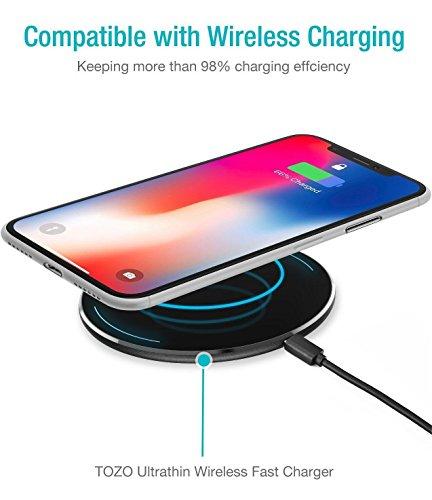 Cover iPhone X, TOZO PP Ultra Sottile [0.35mm] Più Sottile Custodia Protettiva del Mondo [Semi-Trasparente] Leggero Case iPhone 10 / X [Bianca Opaco]