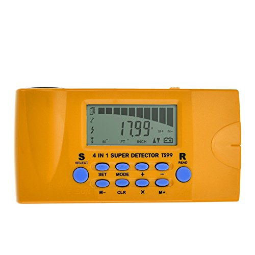 Product Image of the ALLOSUN 4 in 1 Ultrasonic Distance meter/Wood Stud Finder/Metal Detector/AC Wires Tracker