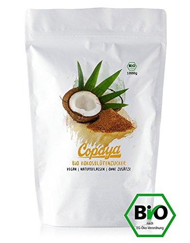 Kokosblütenzucker BIO   5000g   Kokoszucker   Zuckerersatz   Premium Qualität ohne Zusätze   Vorratspackung