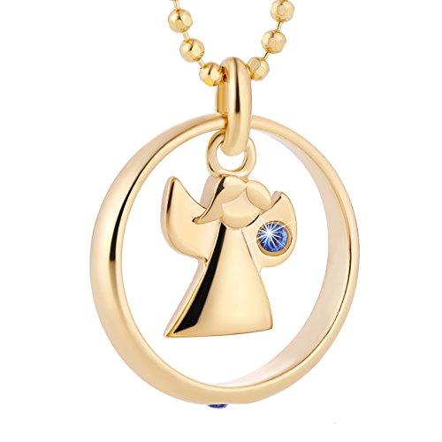 fish Mädchen Junge Kette Silber Gold Beschichtet Taufkette Blau Geschenkverpackung Taufe Geschenk
