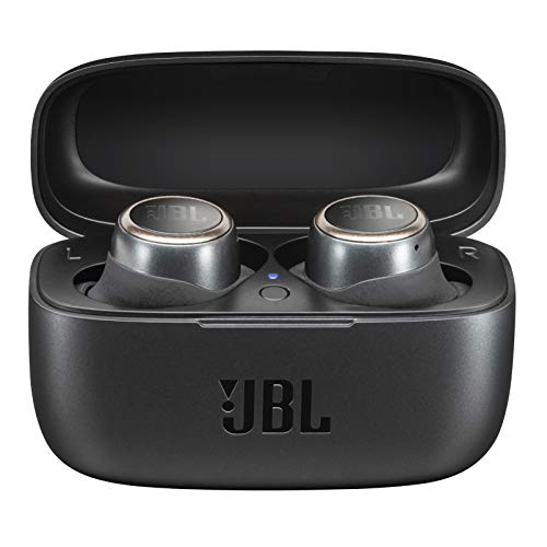 JBL LIVE 300 TWS Cuffie In-Ear True Wireless Bluetooth – Auricolari con Microfono, Noise Cancelling, Alexa integrata e Assistente Google – Fino a 20h di Autonomia, Nero