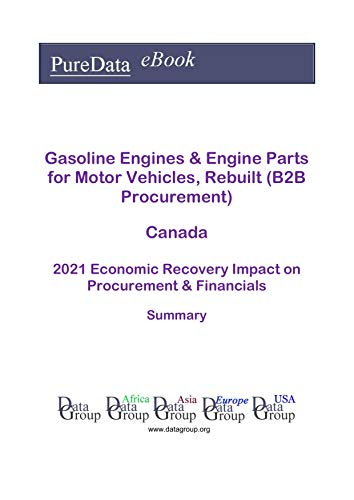 Gasoline Engines & Engine Parts for Motor Vehicles, Rebuilt (B2B Procurement) Canada Summary: 2021 Economic Recovery Impact on Revenues & Financials (English Edition)