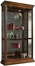 Beaumont Lane Curio Cabinet in Golden Oak