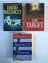 David Baldacci (3 Book Set) The Escape -- The Target -- Absolute Power
