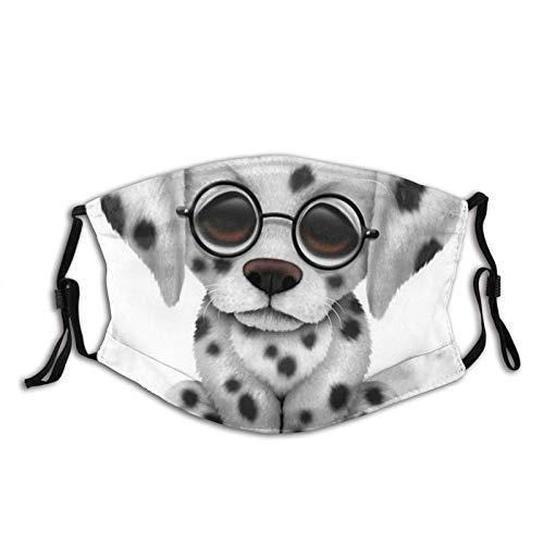 Dalmatiner Unisex Anti-Verschmutzung Nase Gesichtsmaske Staub Nase Gesichtsmaske