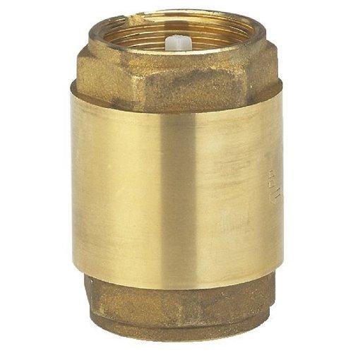 Válvula intermedia de latón GARDENA: Válvula de retención hecha de latón completo, rosca de 26.5 mm (G 3/4