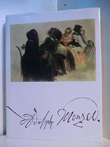 Adolph Menzel : Gemälde, Zeichn., Ausstellung 1980, Nationalgalerie.