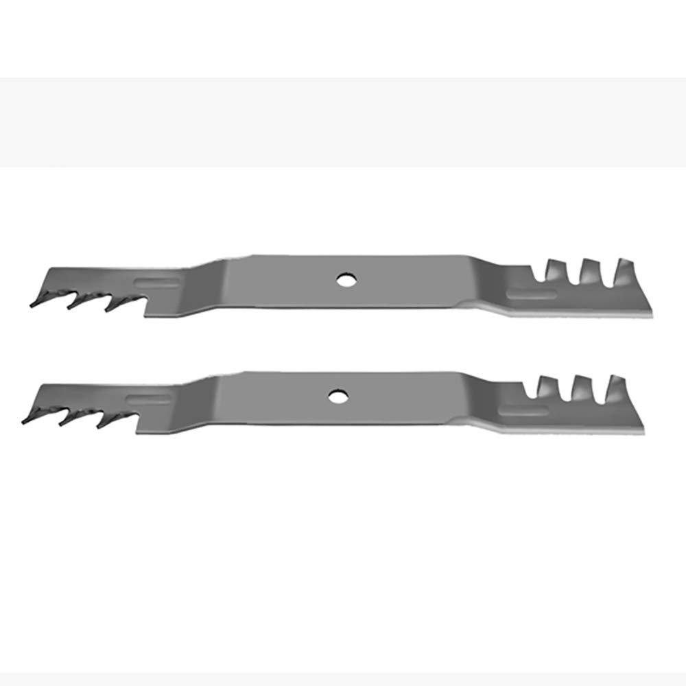 2 A surprise price is realized Toothed Mower Blades Fits 42