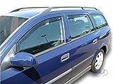 J&J AUTOMOTIVE Derivabrisas para Opel Astra II G 5 puerta Break 1998-2005 4 piezas