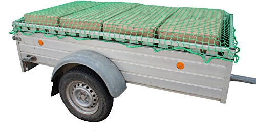 HP-Autozubehör 25166 Profi Anhängernetz 4,0 x 3,0m