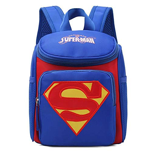 School Bag,Kid Backpack Superhero Children Backpack Durable Adjustable Kindergarten Book...