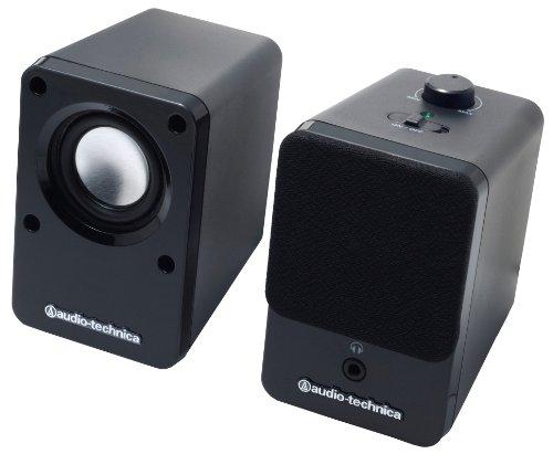 オーディオテクニカ デスクトップスピーカー ブラック AT-SP102 BK