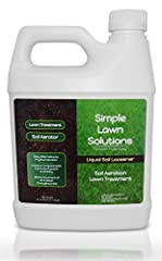 Liquid Soil Aerator: Alternative to Physical, Core & Mechanical Aeration, Liquid Soil Loosener loosens compact soil and break apart hardpan. Aerating soil will help downward movement of water allowing more water and air to get to the roots. Soil Cond...