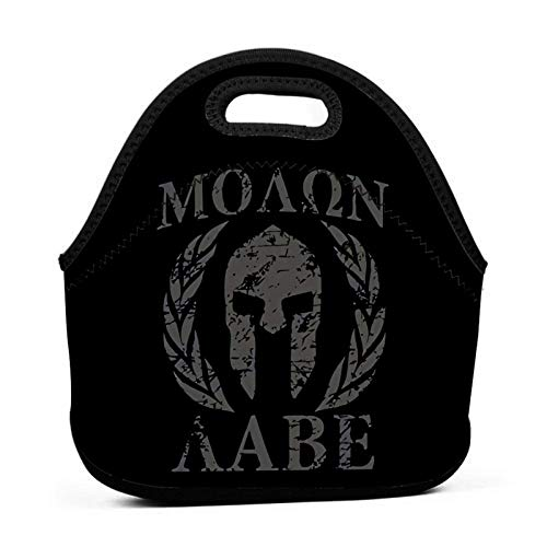 VJSDIUD Molon Lunch Bag Fiambrera portátil Fiambrera aislada Tote de almuerzo Soft Bento Cooler Bolsas térmicas
