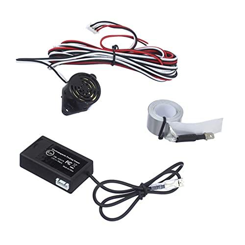 Sensor de aparcamiento Sensor de estacionamiento electromagnético automático No se necesitan agujeros, fácil instalación, radar de estacionamiento, sensor de aparcamiento de respaldo de protección de