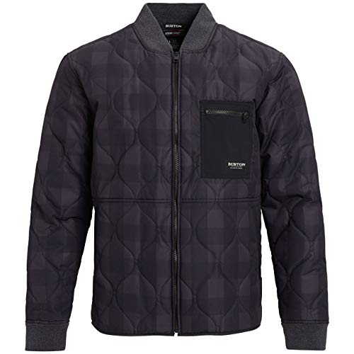 Burton Mallett Windproof Jacket Large True Black Buffalo