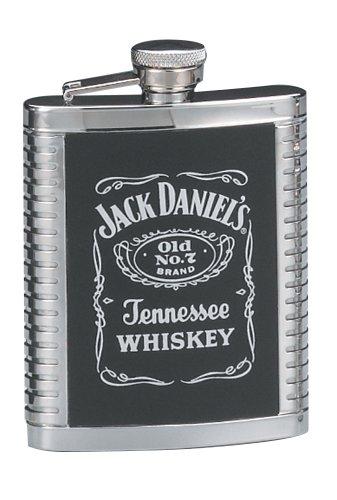 Jack Daniels Flachmann, gerippt