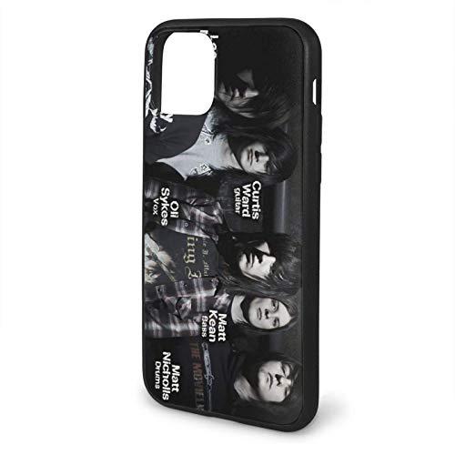 Compatibile con iPhone 12/11 PRO Max 12 Mini SE X/XS Max XR 8 7 6 6s Plus Custodie Bring Me The Horizon Nero Custodie per Telefoni Cover