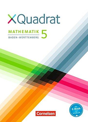 XQuadrat - Baden-Württemberg: 5. Schuljahr - Schülerbuch