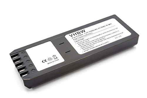 vhbw Batteria NiMH 3500mAh (7.2V) per Oscilloscopio, Multimetro, Fluke Scopemeter 700, 740, 744, DSP-4000, DSP-4000PL, DSP-4100 come BP7235, 668225.
