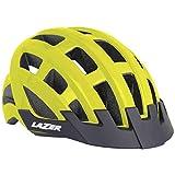 Lazer Casco Compact (Unisize) Ciclismo, Adultos Unisex, Amarillo(Amarillo), Talla Única